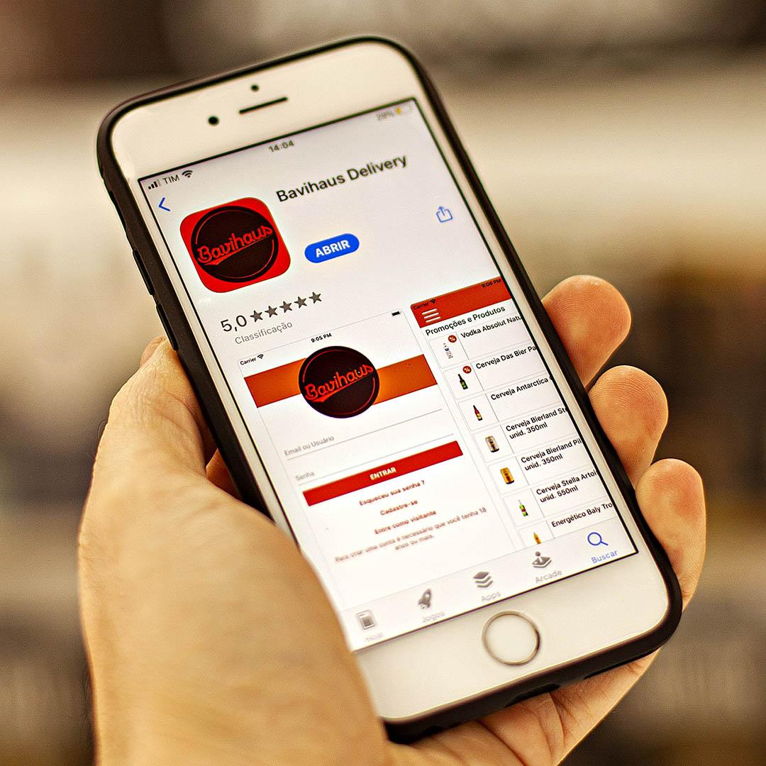 Agora é oficial: Bavihaus lança App de entregas em Blumenau!