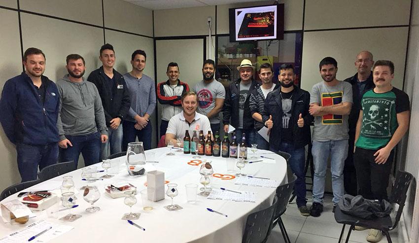 O workshop cervejeiro desta semana contou com a presença de um timaço