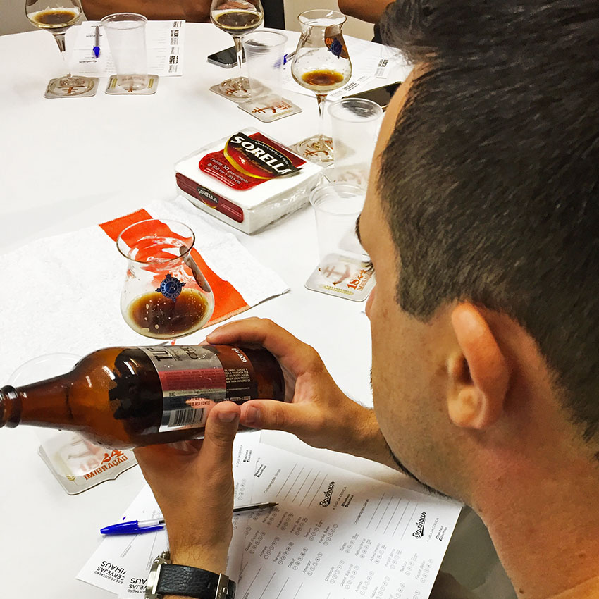 Os workshops cervejeiros continuam. Reunimos mais gente neste começo de semana