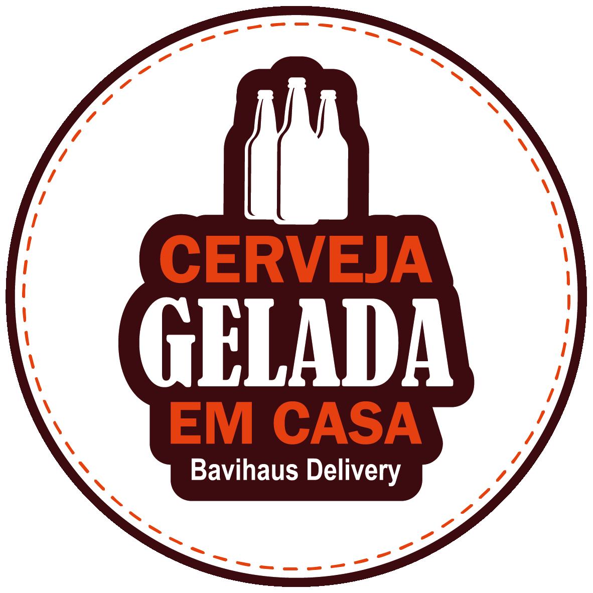 Selo Cerveja Gelada em Casa - Bavihaus Delivery